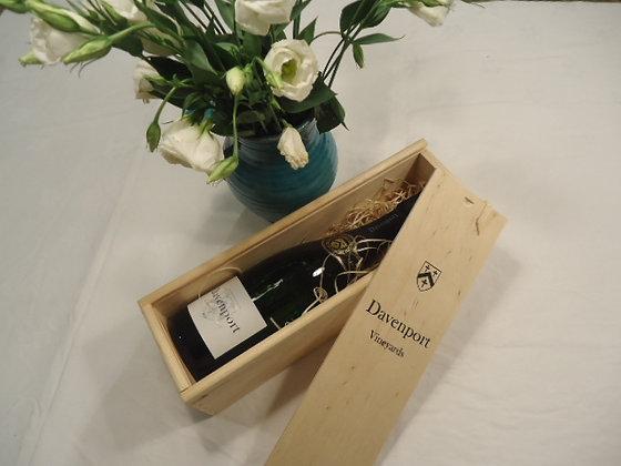 Wooden wine gift box (single bottle)
