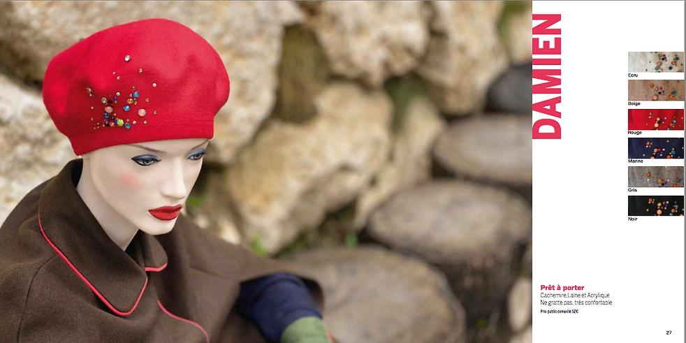bonnet hiver chimiothérapie Ploërmel