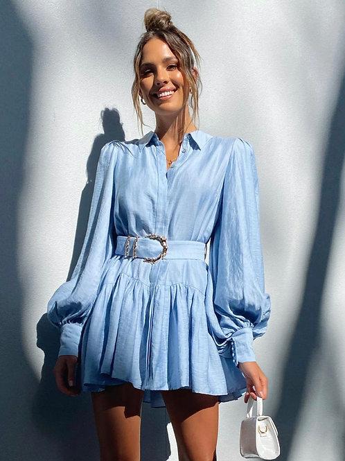 Sherwood Dress Cornflower Blue