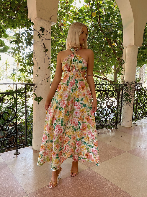 Bonnie Cross-Back Dress