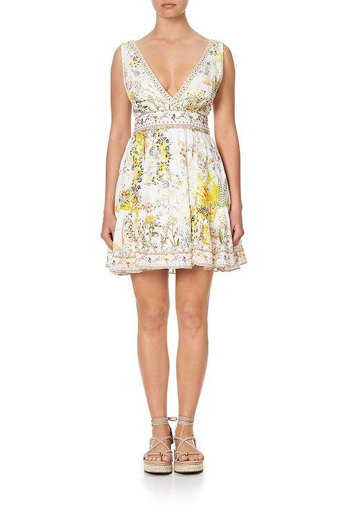 Panelled Short Dress