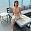Thumbnail: Isabel Knitted Cut Out Dress