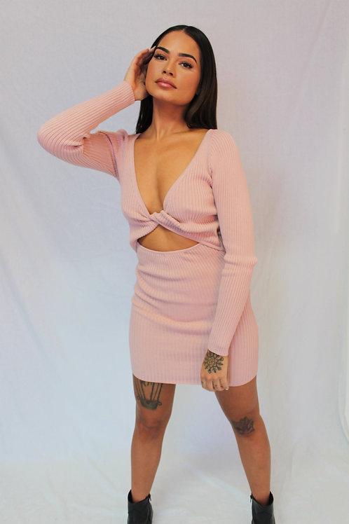 Priscilla L/S Knit Pink