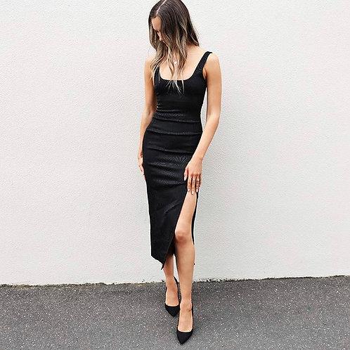 Zebre Midi Dress