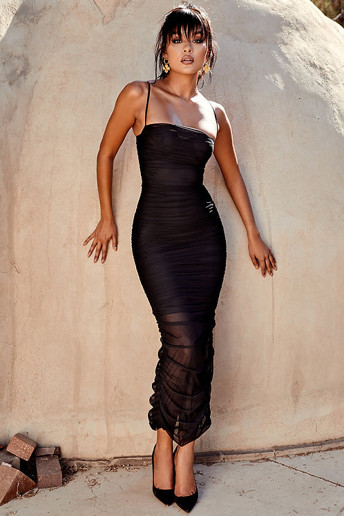 Black Fornarina Dress