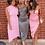 Thumbnail: Mila Asymmetric Midi Dress Khaki