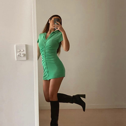 Alexa Dress Green