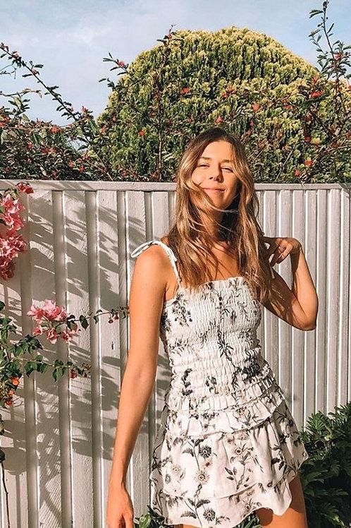 Mariele Ruched Mini Dress