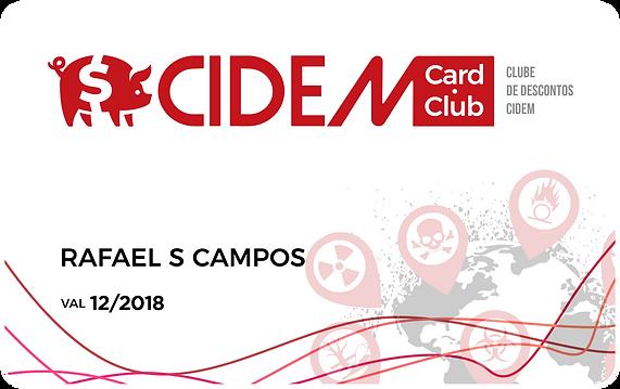 Cartão Card Club CIDEM