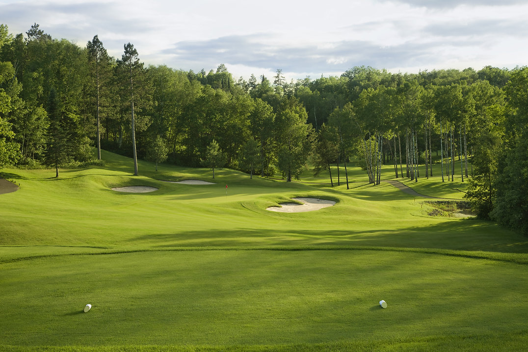 Golfplatzschilder