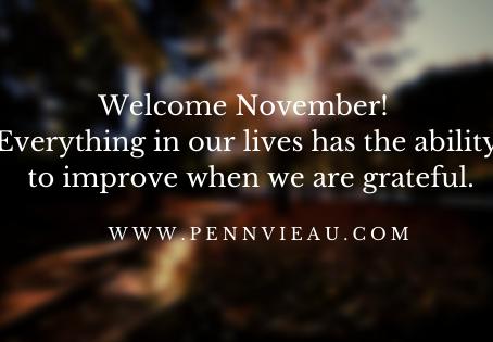 Welcome November Again