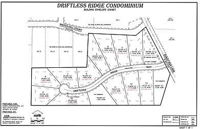 Driftlss Ridge Plat Map