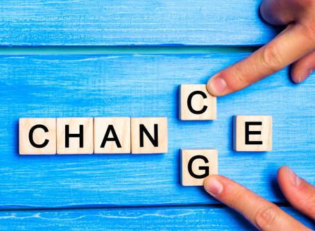 Change- It is always happening