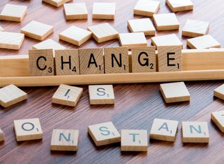 Change is constant