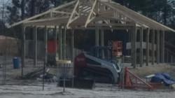 Large new pavilion taking shape!