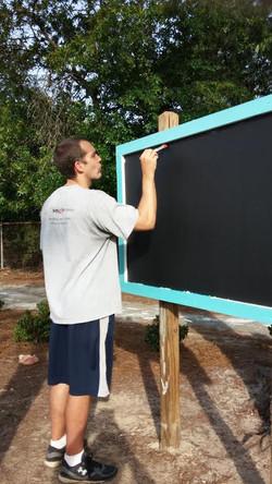 Meticulous painter!