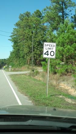 Safer speed limit. Thanks SCDOT!