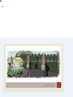 Proposed entrance to Cindy's Place