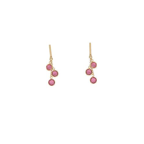 Azura Earrings Pink