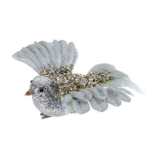 Sparkly Sky Bird Silver