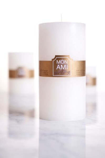 Mon Ami Rustic Candle 10x20 160hrs