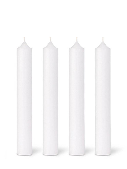 White Dinner Candle