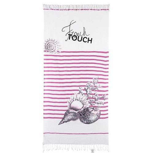 Riva Beach Towel Rose Grey