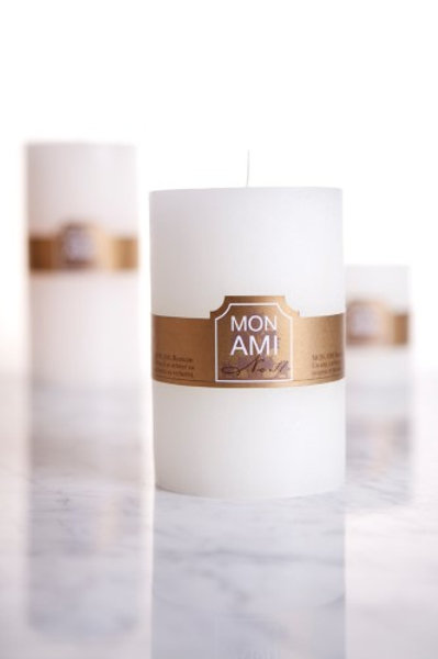 Mon Ami Rustic Candle 10x15 125hrs