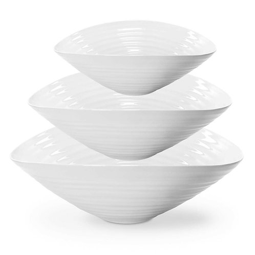 Sophie Conran for Portmeirion Salad Bowls - Set of 3
