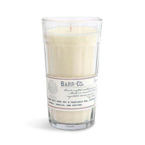 Barr-Co Original Milk Glass Candle