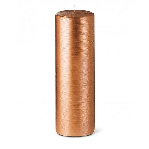 Copper Pillar Candle