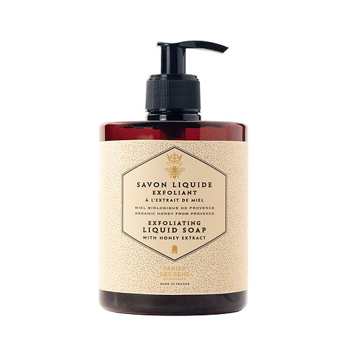 Panier Des Sens Honey Exfoliating Liquid Soap