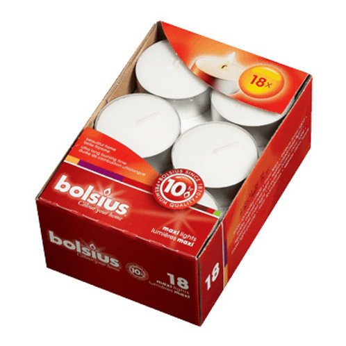 Bolsius Maxi Tealights Box