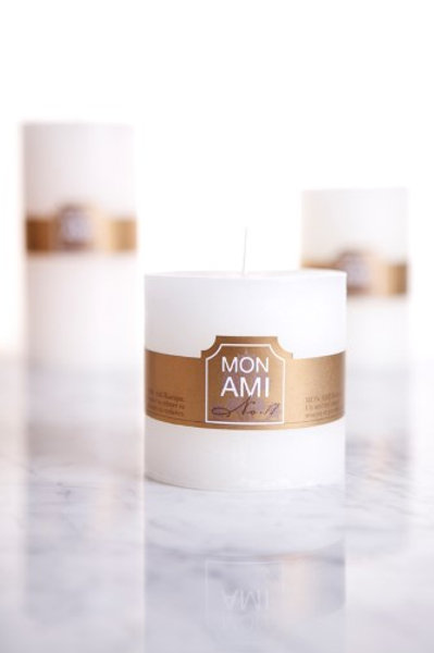 Mon Ami Rustic Candle 10x10 90hrs