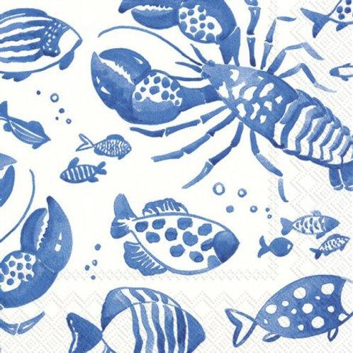 Marine Crabs Napkin