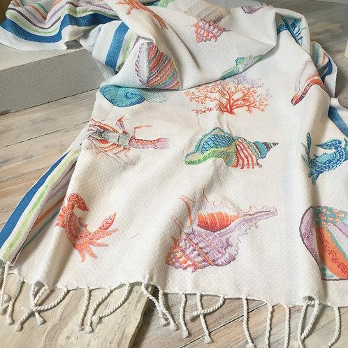 Amarine Beach Towel Multi