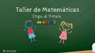 Ideas para matemáticas en Primari
