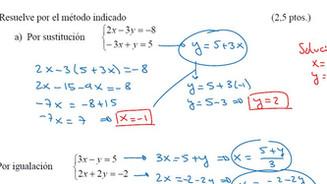 Exámenes Resueltos de Sistemas de Ecuaciones