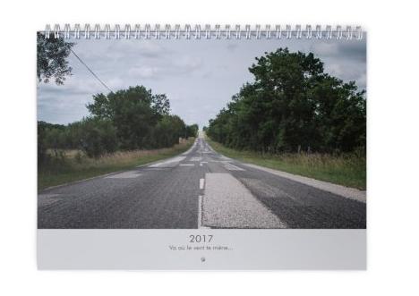 2017 Vas où le vent te mène...