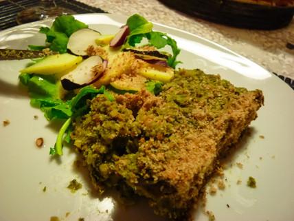 Pâté végétal aux épinards