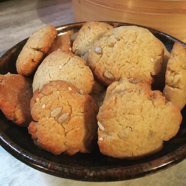 Biscuit au miel et huile d'olive
