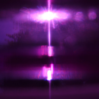 In the violet flame