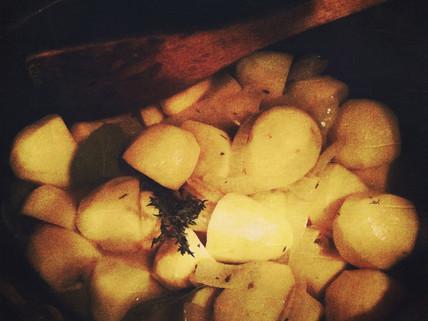 Les pommes de terre à la parisienne