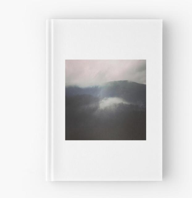 Carnet cartonné la source des nuages