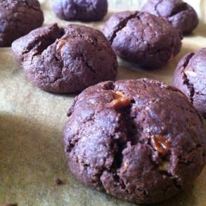 Les cookies chocolat aux pépites de chocolat blanc