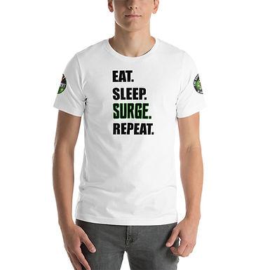 Eat. Sleep. SURGE. Repeat. Tee