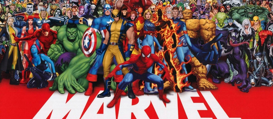 Episode 17: The Marvel Universe!