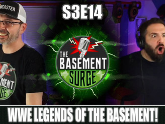 A&E WWE Legends of the Basement!