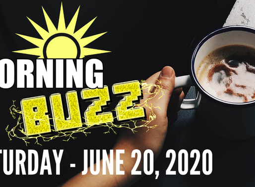 The Morning Buzz - Episode 3 - June 20, 2020