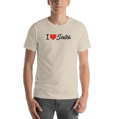 I Heart Scotch Short-Sleeve Unisex T-Shirt